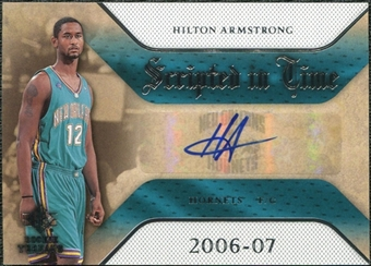 2007/08 Upper Deck SP Rookie Threads Scripted in Time #HA Hilton Armstrong Autograph