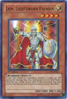 Yu-Gi-Oh Ra Mega Pack Single Jain, Lightsworn Paladin Ultra Rare
