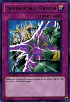 Yu-Gi-Oh Legendary Collection 2 Single Dimensional Prison Ultra Rare