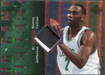 2006/07 Upper Deck UD Reserve Game Patches #AJ Al Jefferson