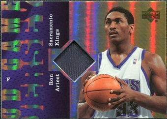 2006/07 Upper Deck UD Reserve Game Patches #AR Ron Artest