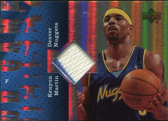 2006/07 Upper Deck UD Reserve Game Patches #KM Kenyon Martin