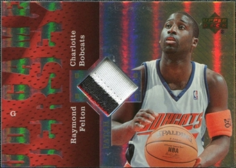 2006/07 Upper Deck UD Reserve Game Patches #RF Raymond Felton
