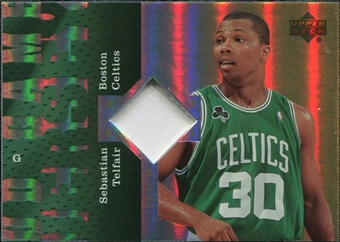 2006/07 Upper Deck UD Reserve Game Patches #ST Sebastian Telfair