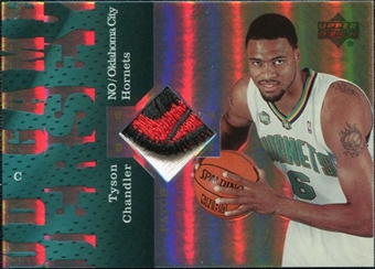 2006/07 Upper Deck UD Reserve Game Patches #TC Tyson Chandler