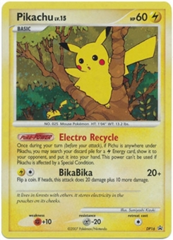 Pokemon Diamond & Pearl Promo Single Pikachu DP16