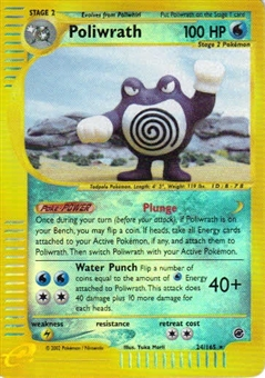 Pokemon Expedition Single Poliwrath 24/165