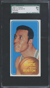 1970/71 Topps Basketball #143 Jo Jo White Rookie SGC 84 (NM) *0013