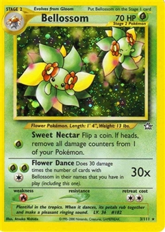 Pokemon Neo Genesis Single Bellossom 3/111
