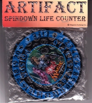 Magic the Gathering Artifact Spindown Life Counter - Tezzeret Agent of Bolas