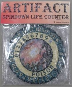Magic the Gathering Artifact Spindown Life Counter - Mirrodin Besieged