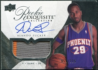 2007/08 Upper Deck Exquisite Collection #93 Alando Tucker Rookie Patch Autograph /225