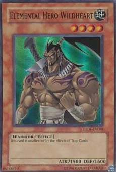 Yu-Gi-Oh Dark Revelations 4 Single Elemental Hero Wildheart Super Rare