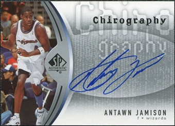 2006/07 Upper Deck SP Authentic Chirography #JA Antawn Jamison Autograph