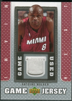 2007/08 Upper Deck UD Game Jersey #AW Antoine Walker
