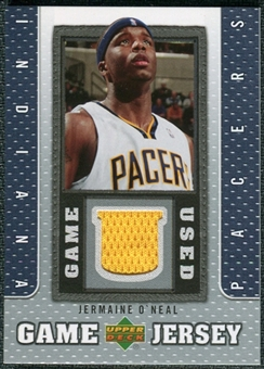 2007/08 Upper Deck UD Game Jersey #JO Jermaine O'Neal