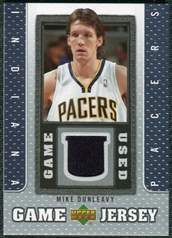 2007/08 Upper Deck UD Game Jersey #MD Mike Dunleavy