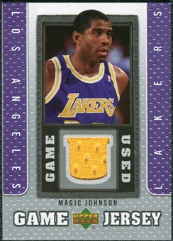 2007/08 Upper Deck UD Game Jersey #MJ Magic Johnson