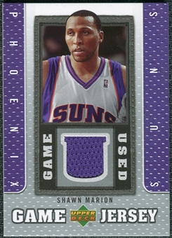 2007/08 Upper Deck UD Game Jersey #SH Shawn Marion