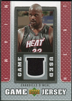 2007/08 Upper Deck UD Game Jersey #SO Shaquille O'Neal