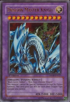 Yu-Gi-Oh Duelist Pack Kaiba Single Dragon Master Knight Ultra Rare DPKB