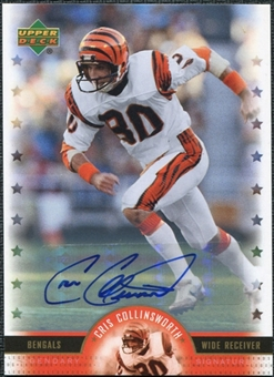 2005 Upper Deck Legends Legendary Signatures #CC Cris Collinsworth