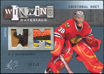 2009/10 Upper Deck SPx Winning Materials Spectrum Patches #WMCH Cristobal Huet /50