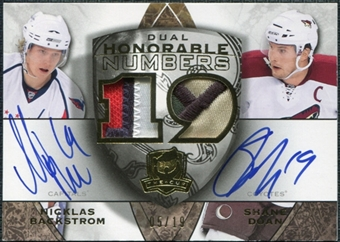 2008/09 Upper Deck The Cup Honorable Numbers Dual #HN2DB Shane Doan Nicklas Backstrom 5/19