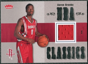 2007/08 Fleer NBA Classics #TTAB Aaron Brooks