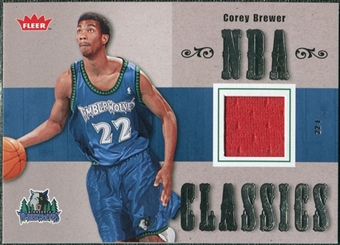 2007/08 Fleer NBA Classics #TTCB Corey Brewer