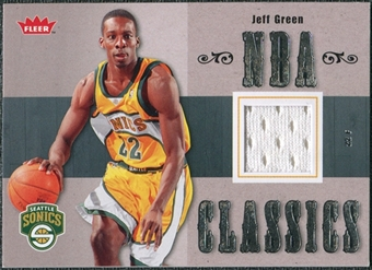 2007/08 Fleer NBA Classics #TTJG Jeff Green