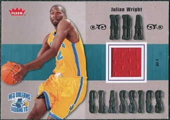 2007/08 Fleer NBA Classics #TTJW Julian Wright