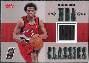 2007/08 Fleer NBA Classics #TTTG Taurean Green