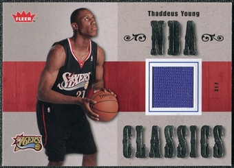 2007/08 Fleer NBA Classics #TTTY Thaddeus Young