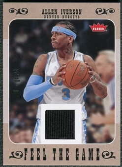 2007/08 Fleer Feel The Game #FGAI Allen Iverson
