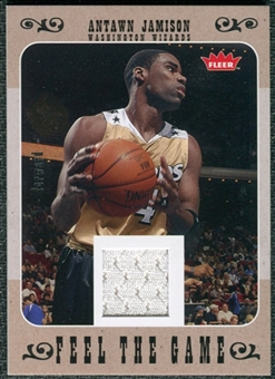 2007/08 Fleer Feel The Game #FGAJ Antawn Jamison