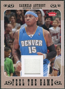 2007/08 Fleer Feel The Game #FGCA Carmelo Anthony
