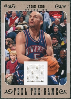 2007/08 Fleer Feel The Game #FGJK Jason Kidd