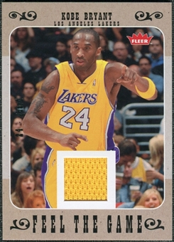 2007/08 Fleer Feel The Game #FGKB Kobe Bryant