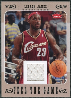 2007/08 Fleer Feel The Game #FGLJ LeBron James