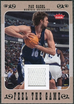 2007/08 Fleer Feel The Game #FGPG Pau Gasol