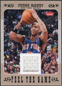 2007/08 Fleer Feel The Game #FGSM Stephon Marbury