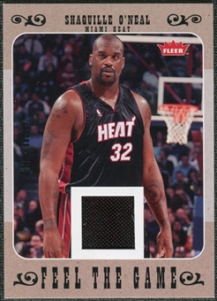 2007/08 Fleer Feel The Game #FGSO Shaquille O'Neal