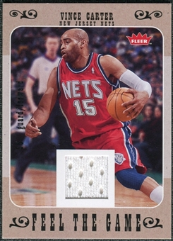 2007/08 Fleer Feel The Game #FGVC Vince Carter