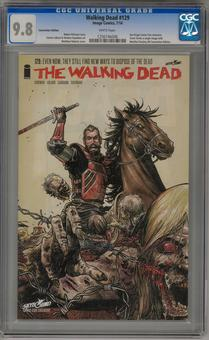 Walking Dead #129 Convention Edition CGC 9.8 (W) *1256746006*