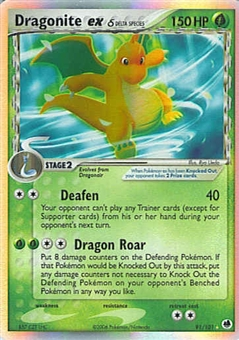 Pokemon Dragon Frontiers Single Dragonite ex 91/101