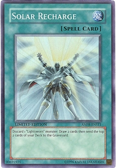 Yu-Gi-Oh Ancient Prophecy Single Solar Recharge Super Rare