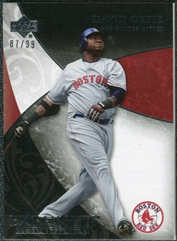 2007 Upper Deck Exquisite Collection Rookie Signatures #16 David Ortiz /99