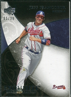 2007 Upper Deck Exquisite Collection Rookie Signatures #40 Jeff Francoeur /99