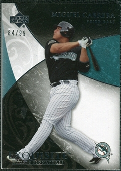 2007 Upper Deck Exquisite Collection Rookie Signatures #42 Miguel Cabrera /99